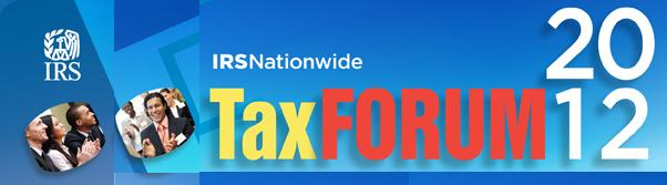 IRS Tax Forum 2012