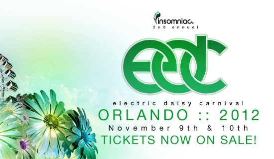 Electric Daisy Carnival Powers Up in Orlando in November