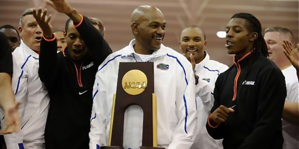 Mike Holloway UF Head Coach, Track & Field