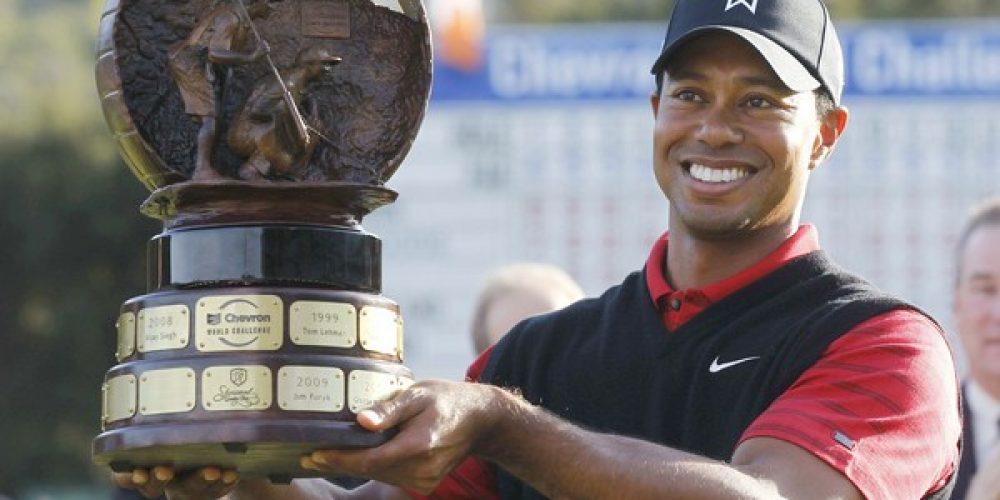 Tiger Woods wins Chevron Challenge