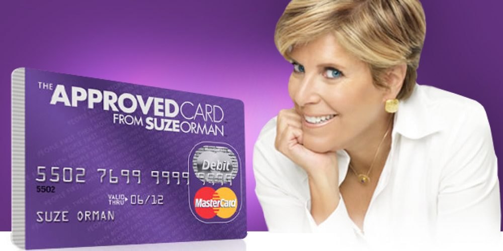 New! The Approved Card by Suze Orman